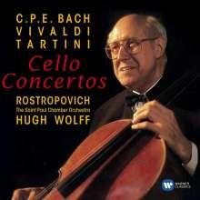Mstislav Rostropovich - Cellokonzerte des Barock, CD