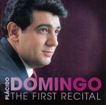 Placido Domingo - The First Recital (Das Debut-Album von 1968), CD