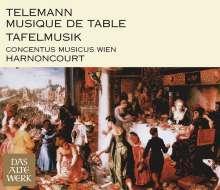 Georg Philipp Telemann (1681-1767): Tafelmusik (Gesamtaufnahme), 4 CDs