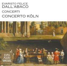 Evaristo Felice Dall'Abaco (1675-1742): Concerti a quattro da chiesa op.2 Nr.1,4,5,7, CD