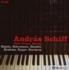 Andras Schiff - Solo Piano Music, 6 CDs