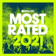 Defected Presents Most Rated 2021, 3 CDs
