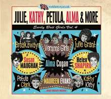 Julie, Kathy, Petula, Alma & More: Early Brit Girls Vol.4, 2 CDs