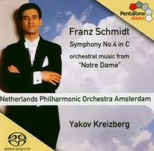 Franz Schmidt (1874-1939): Symphonie Nr.4, Super Audio CD
