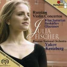 Julia Fischer - Russische Violinkonzerte, Super Audio CD