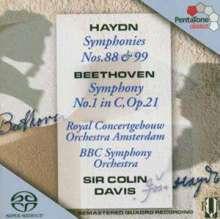 Joseph Haydn (1732-1809): Symphonien Nr.88 & 99, Super Audio CD