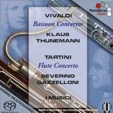 Antonio Vivaldi (1678-1741): Fagottkonzerte RV 484,489,498,502, Super Audio CD