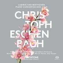 Ludwig van Beethoven (1770-1827): Klavierkonzerte Nr.3 & 5, Super Audio CD