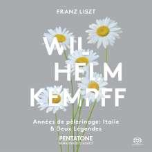 Franz Liszt (1811-1886): Annees de Pelerinage (2.Jahr:Italien / Auszüge), Super Audio CD