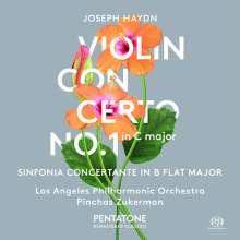Joseph Haydn (1732-1809): Violinkonzert H7a Nr.1, Super Audio CD