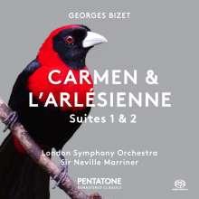 Georges Bizet (1838-1875): Carmen-Suiten Nr.1 & 2, Super Audio CD