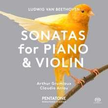 Ludwig van Beethoven (1770-1827): Violinsonaten Nr.1 & 5, Super Audio CD