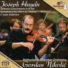 "Joseph Haydn (1732-1809): Symphonie Nr.100 ""Militär"", Super Audio CD"