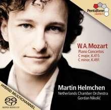 Wolfgang Amadeus Mozart (1756-1791): Klavierkonzerte Nr.13 & 24, Super Audio CD