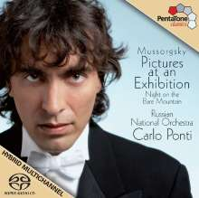 Modest Mussorgsky (1839-1881): Bilder einer Ausstellung (Orch.Fass.), Super Audio CD