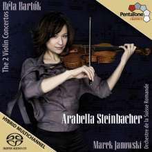 Bela Bartok (1881-1945): Violinkonzerte Nr.1 & 2, Super Audio CD