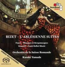 Georges Bizet (1838-1875): L'Arlesienne-Suiten Nr.1 & 2, Super Audio CD