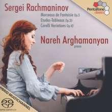 Sergej Rachmaninoff (1873-1943): Etudes-Tableaux op.33 Nr.1-9, Super Audio CD