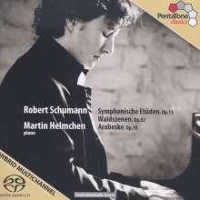 Robert Schumann (1810-1856): Symphonische Etüden op.13, Super Audio CD
