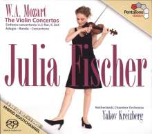 Wolfgang Amadeus Mozart (1756-1791): Violinkonzerte Nr.1-5, 3 Super Audio CDs