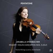 Wolfgang Amadeus Mozart (1756-1791): Violinkonzerte Nr.3-5, Super Audio CD