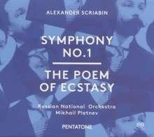 Alexander Scriabin (1872-1915): Symphonie Nr.1, Super Audio CD