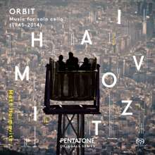 Matt Haimovitz - Orbit (Music für Cello solo), 3 Super Audio CDs