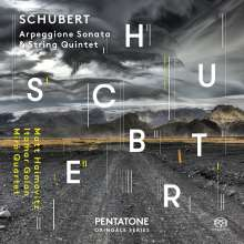 Franz Schubert (1797-1828): Arpeggione-Sonate D.821, Super Audio CD