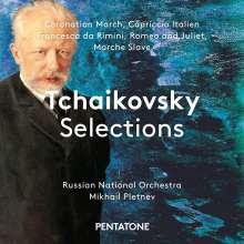 """Peter Iljitsch Tschaikowsky (1840-1893): Orchesterwerke """"Tschaikowsky Selections"""", Super Audio CD"""