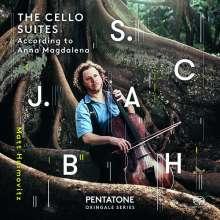 Johann Sebastian Bach (1685-1750): Cellosuiten BWV 1007-1012, 2 Super Audio CDs