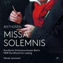 Ludwig van Beethoven (1770-1827): Missa Solemnis op.123, Super Audio CD