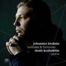 Johannes Brahms (1833-1897): Balladen op.10 Nr.1-4, Super Audio CD