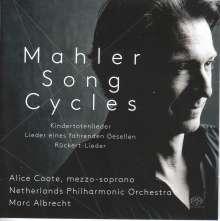 Gustav Mahler (1860-1911): Kindertotenlieder, Super Audio CD