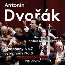 Antonin Dvorak (1841-1904): Symphonien Nr.7 & 8, Super Audio CD
