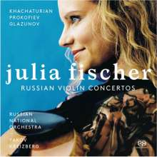 Julia Fischer - Russische Violinkonzerte, Super Audio CD
