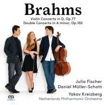 Johannes Brahms (1833-1897): Violinkonzert op.77, Super Audio CD