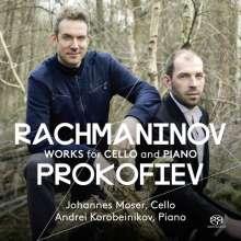 Johannes Moser - Works for Cello & Piano, Super Audio CD