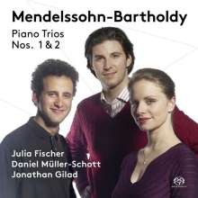 Felix Mendelssohn Bartholdy (1809-1847): Klaviertrios Nr.1 & 2, Super Audio CD