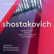 Dmitri Schostakowitsch (1906-1975): Symphonie Nr.1, Super Audio CD