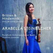 Arabella Steinbacher - Britten / Hindemith, Super Audio CD