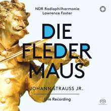 Johann Strauss II (1825-1899): Die Fledermaus, 2 Super Audio CDs