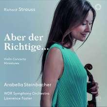 Richard Strauss (1864-1949): Violinkonzert op.8, Super Audio CD