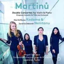 Bohuslav Martinu (1890-1959): Konzert für 2 Klaviere & Orchester, Super Audio CD