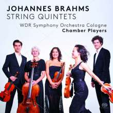 Johannes Brahms (1833-1897): Streichquintette Nr.1 & 2, Super Audio CD