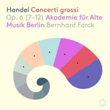 Georg Friedrich Händel (1685-1759): Concerti grossi op.6 Nr.7-12, Super Audio CD