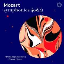 Wolfgang Amadeus Mozart (1756-1791): Symphonien Nr.40 & 41, Super Audio CD