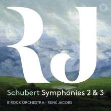 Franz Schubert (1797-1828): Symphonien Nr.2 & 3, Super Audio CD