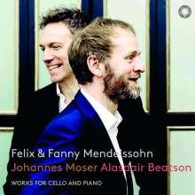 Johannes Moser - Felix und Fanny Mendelssohn, Super Audio CD