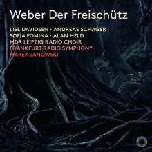 Carl Maria von Weber (1786-1826): Der Freischütz, 2 Super Audio CDs
