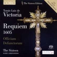 """Tomas Louis de Victoria (1548-1611): Requiem """"Officium defunctorum"""" (1605), Super Audio CD"""